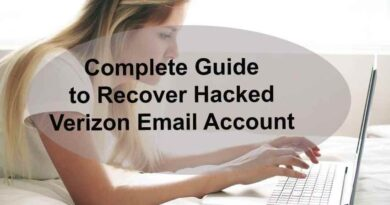 Complete Guide to Recover Hacked Verizon Email Account