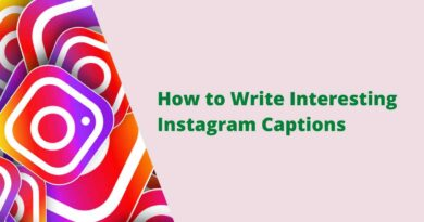 How to Write Interesting Instagram Captions