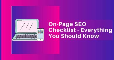 On-Page SEO Checklist - Everything You Should Know-compressed