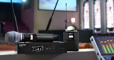 Wireless Microphone For The Church