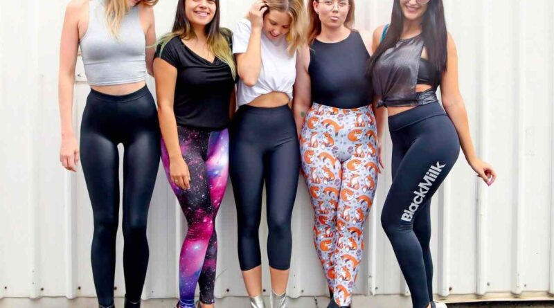 Wear Fancy Yoga Leggings for Easy Workout - Live a Stylish Lifestyle!