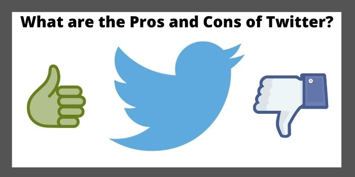 pros and cons of twitter