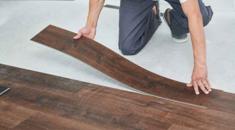 What is the best way to install vinyl flooring sheets/planks?