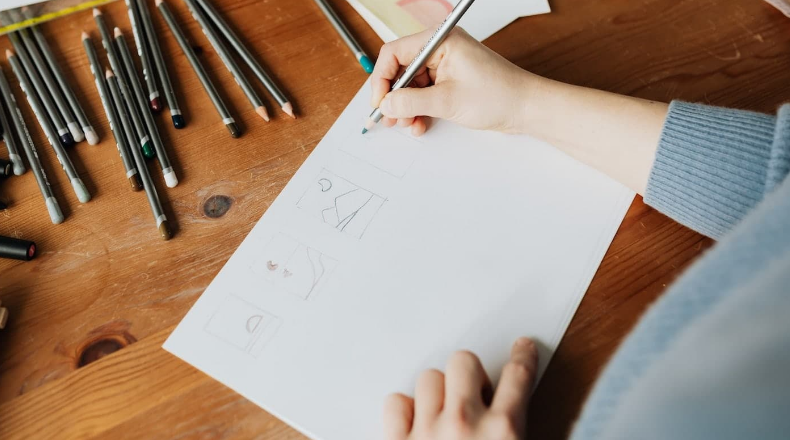 The principles of the art of the drawing
